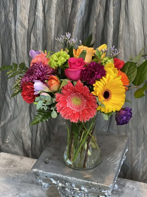 Bright and Cheery Vase Arrangement