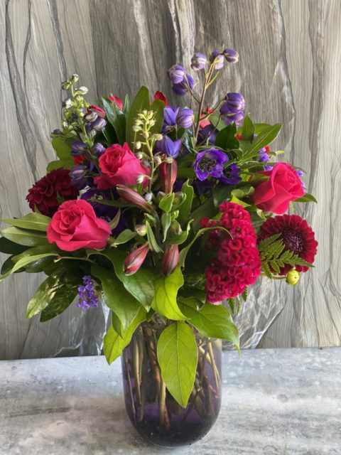 Jewel Toned Arrangement